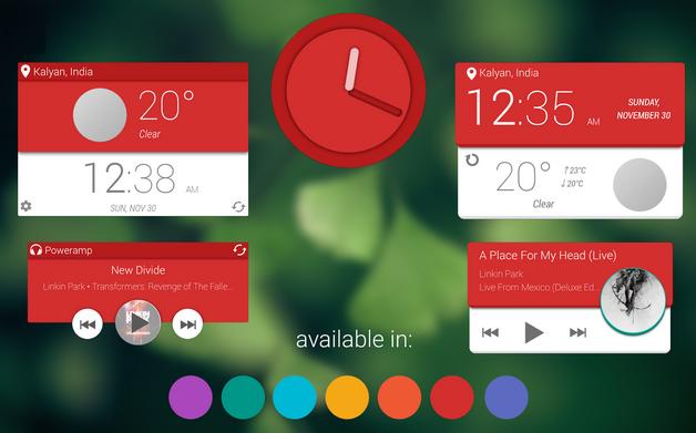 material-design-zooper-widget