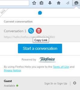 Firefox Hello 3