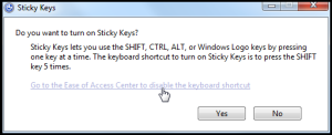 StickyKeys header