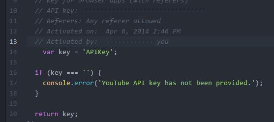 youtube-api-key