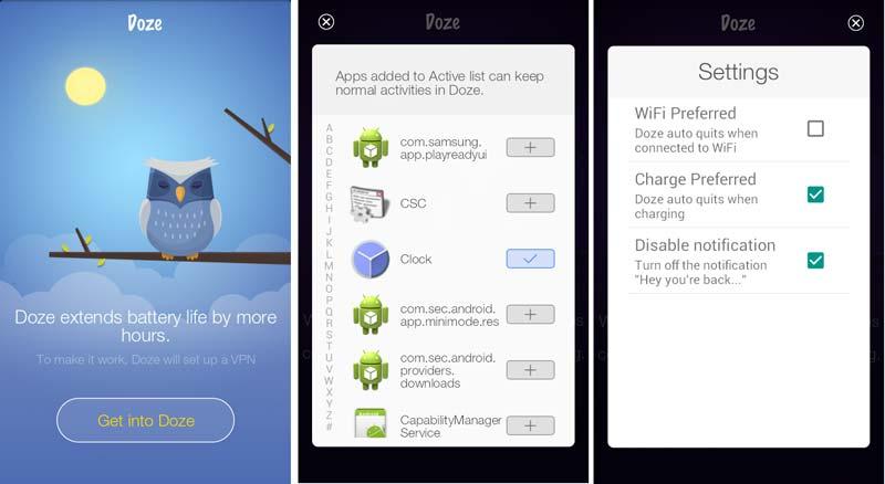 doze-android-app