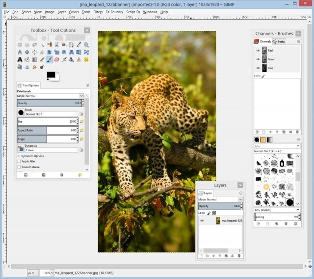 gimp adobe photoshop alternatives