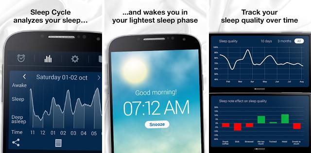 sleep tracking apps sleep cycle