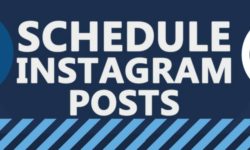 schedule instagram posts header