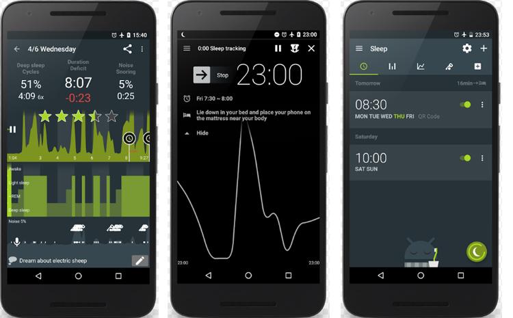 sleep tracking app sleep as android