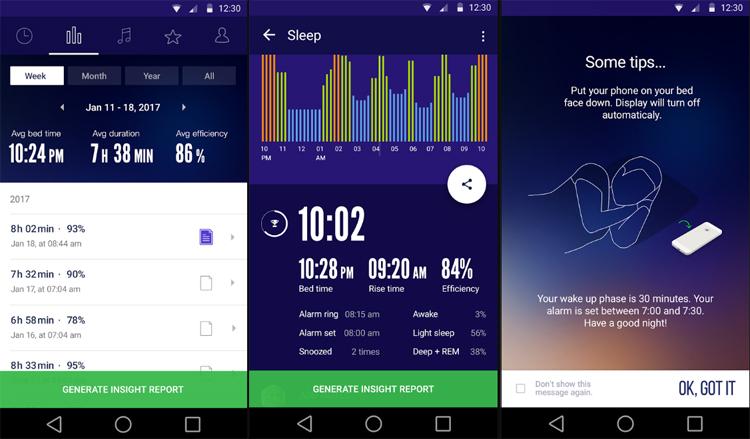 sleep tracking apps sleeptime