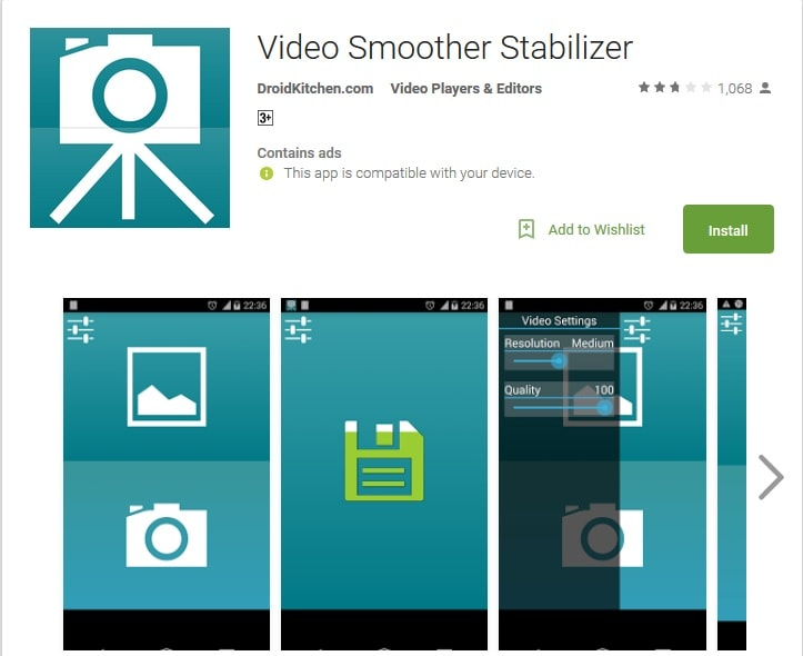 stabilize shaky android videos-video-smoother-stabilizer