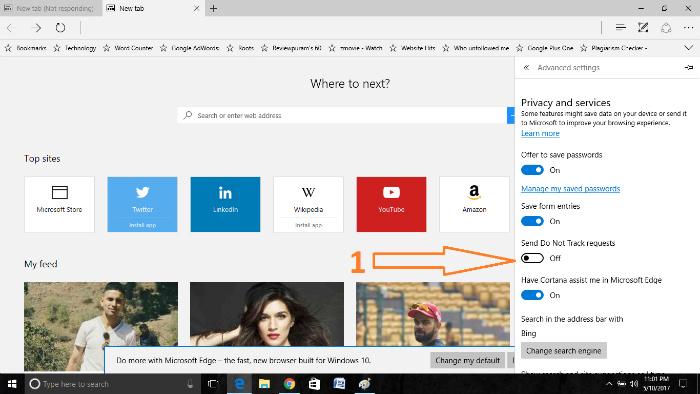 optimize microsoft edge browser requests